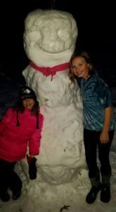 Pete the snowman